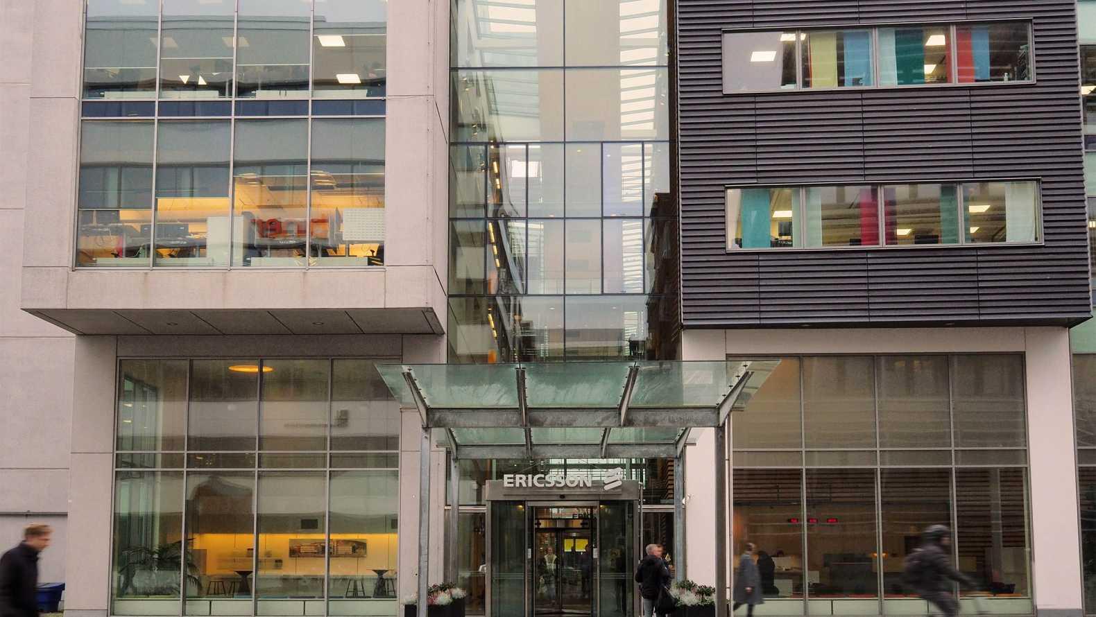 Facade Ericsson Lindholmspiren 11 AI Innovation of Sweden